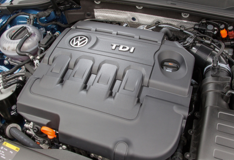 2014 Volkswagen Golf Engine