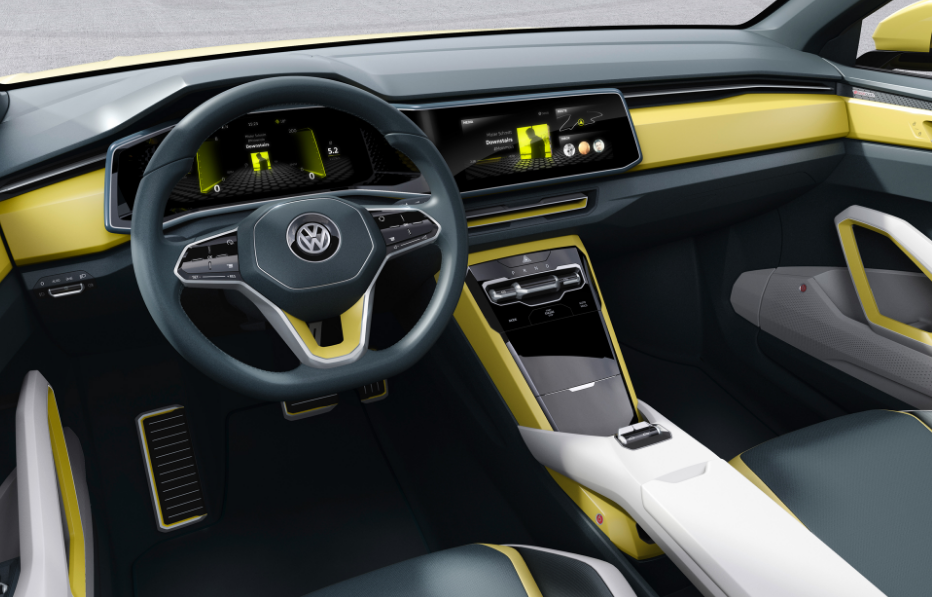 2018 VW T Cross Interior