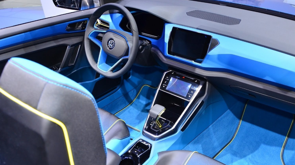 2018 VW T Roc Interior
