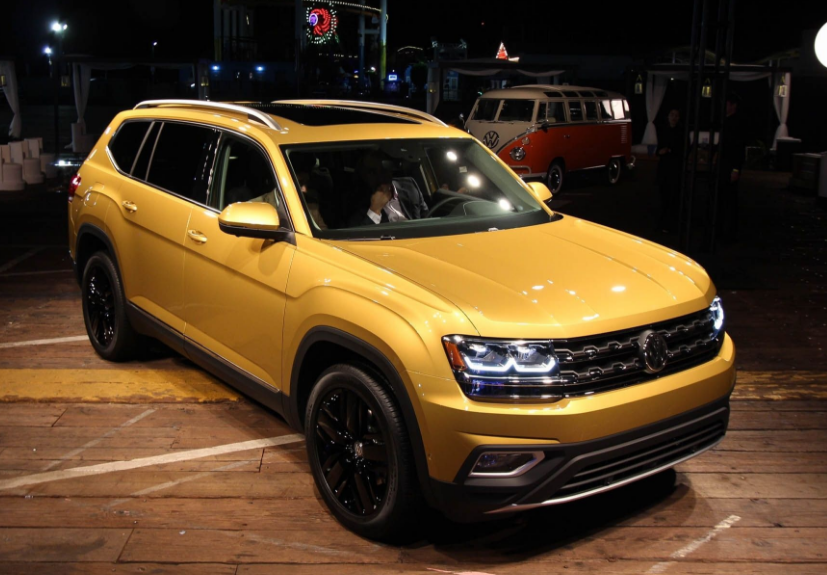 2019 volkswagen atlas review price and photos volkswagen release. Black Bedroom Furniture Sets. Home Design Ideas