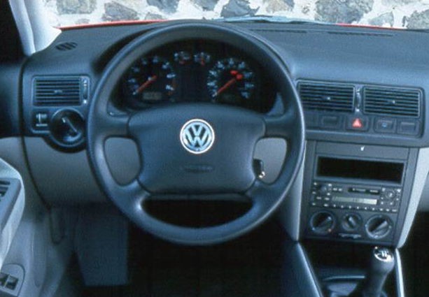 1999 Volkswagen Golf Interior and Redesign
