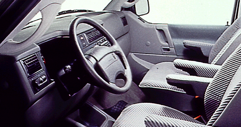 1994 Volkswagen EuroVan Interior and Redesign
