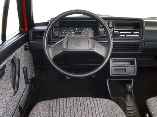 1992 Volkswagen Golf Interior and Redesign