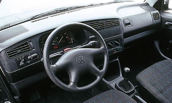 1993 Volkswagen Golf Interior and Redesign