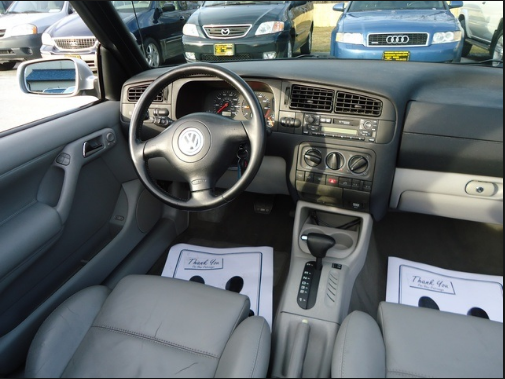 2002 Volkswagen Cabrio Interior and Redesign