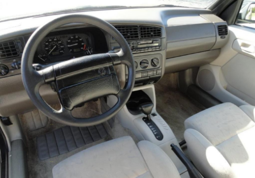 1996 Volkswagen Cabrio Interior and Redesign